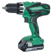 Hitachi DV18DGL 18V Combi Drill with 2 x 2.5Ah Li-Ion Batteries + Carry Case Boston Lincolnshire
